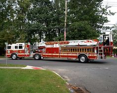 2000 Seagrave Empire Hook and Ladder Truck, Nyack Fire Department, New York