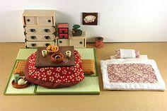 玩具放浪記 - 新旧玩具レビューと玩具画像(Japanese Toy Review) シルバニアファミリー 和室セット レビュー