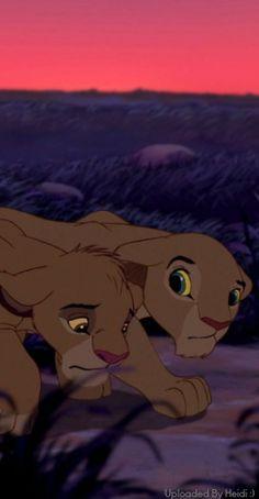 Simba and Nala lion king Lion King Quotes, Lion King 3, The Lion King 1994, Lion King Fan Art, Lion King Movie, Disney Lion King, Walt Disney, Gif Disney, Disney And Dreamworks