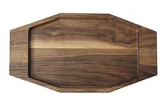 The Carved in Board.  Aroara Industries for Ink Dish. California Walnut serve ware collection.