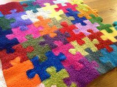 Retail pattern: Ravelry: Puzzle Pieces pattern by Megan Ellinger