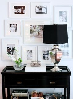 Entry table. I lurve this ! Perfection and must do !!!