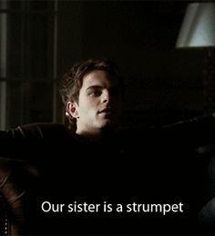 My favorite scene in all of TVD. LMFAO. Kol never stops amusing me. Gotta love Original arguements
