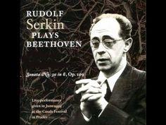 Beethoven-Piano Sonata No. 30 in E Major Op. 109 / Rudolf Serkin: piano-Live…