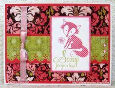 Purpleglo Creations: Sympathy Card Using NEW CTMH Ivy Lane Paper and Cricut Art Philosophy Cartridge