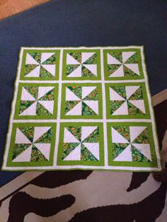 Ninja turtles quilt