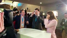 Rajoy y Cospedal prueban las Google Glass de la murciana Droiders — MurciaEconomía.com.