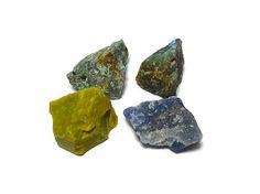 XL Rough Green Opal Chrysocolla Blue Quartz by BeautySuppliesLand, $12.00