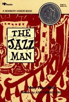 The Jazz Man by Mary Hays Weik, http://www.amazon.com/dp/0689717679/ref=cm_sw_r_pi_dp_IkOcsb1J1598S