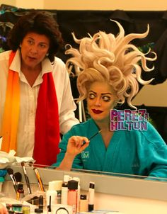MAC does makeup for The Little Mermaid musical