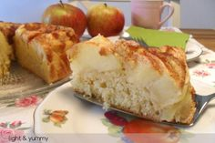 Light apple and cinnamon cake, Light & Yummy - 4 propoints per serve