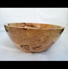 """Custom Maple burl fruit/salad bowl. 9 """" diameter by 4 """" deep. Handcrafted. One of a kind."""