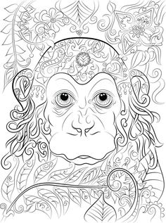 40 colouring pages Digital download 1 PDF Print Color Adult