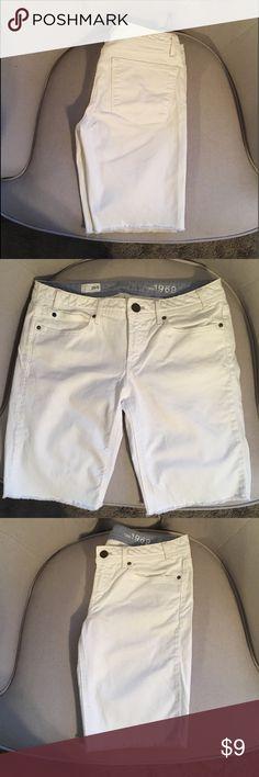 Gap Bermuda shorts White Bermuda shorts GAP Shorts Bermudas