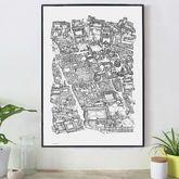 Oxford Cityscape Print