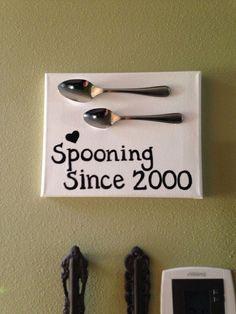 Hometalk :: DIY-Easy Framed Kitchen Spoon Wall Art