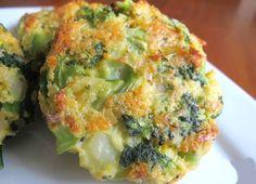 Torticas de brócoli