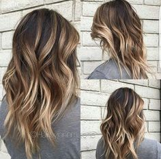 Blonde Burnt Balayage