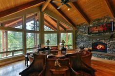 Living Room -  Canyon Vista Ln, Shaver Lake, CA 93664 | MLS #400914 | IDX Real Estate For Sale | Guarantee Real Estate