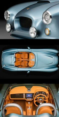 A #Detailed #Look at the New $300,000 #Bristol #Bullet #Speedster