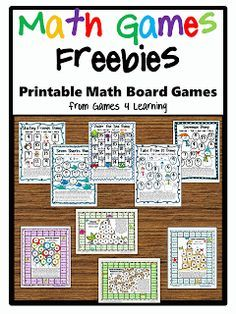Math games: Tons of FREE math math board games packets! Math Tutor, Teaching Math, Math Math, Multiplication Games, Math Education, Teaching Tools, Math Board Games, Math Boards, Fun Games