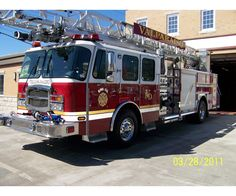 2010, E-ONE  Unit Name: Valparaiso Quint 1  Unit Type:  Aerial Ladder  Pump: 1500 GPM  Tank size: 500  Generator: 10KW  Aerial size: 78ft  Short stick. :)
