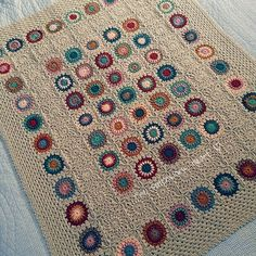 Picture only. Lovely Afghan. Pinned for inspiration.
