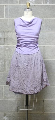 look amazing in this Lavendar dress, figure flattering and easy one piece.  Throw it on for spring with flats.  Transition into winter with sweater and boots.