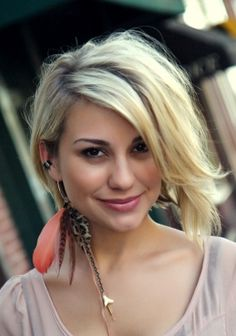 Coupes courtes on pinterest coupe coiffures and sarah for Chelsea kane coupe de cheveux
