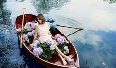 Alexa Chung by David Slijper for Harper's Bazaar UK July 2015 - Rochas dress