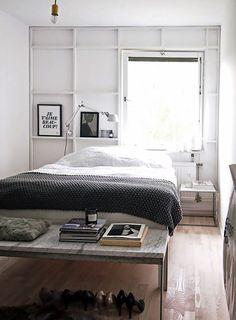My inbuilt shelf in my old bedroom.