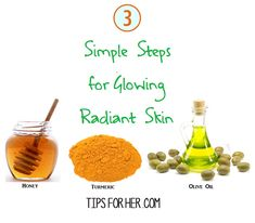 Glowing Radiant Skin in 3 Easy Steps! Say Hello to glowing skin with this simple beauty scrub! Items Needed: 2 tbsp. honey 1 tbsp. olive oil 1 tsp. turmeric Mix turmeric,honey, and olive oil until …