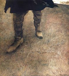 Trodden Weed Andrew Wyeth, self-portrait, 1951. the holy breath