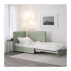VALLENTUNA Sleeper sectional, 1-seat - Hillared green - IKEA