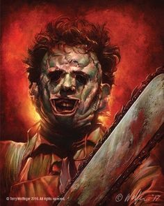 'Leatherface' by Terry Wolfinger