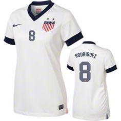 NEW ARRIVAL: Amy Rodriguez #8 Women's Centennial Nike Soccer Jersey: United States Soccer Women's Centennial Nike Soccer Replica Jersey #USWNT  http://www.fansedge.com/Amy-Rodriguez-8-Womens-Centennial-Nike-Soccer-Jersey-United-States-Soccer-Womens-Centennial-Nike-Soccer-Replica-Jersey-_86422363_PD.html?social=pinterest_pfid25-17603