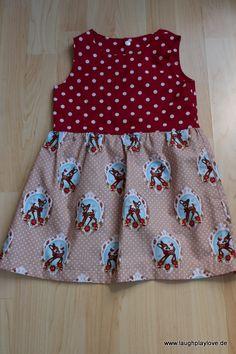 Knoopkleed - Sommerkleid aus Webware