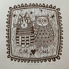 Owl and Pussycat by Lucy Couchman