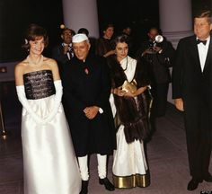Indira Gandhi and the Kennedy's - No the Gandhis were not married but you never know