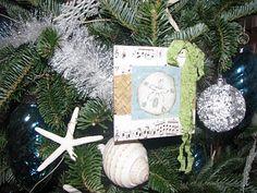 LOVE OF THE SEA: Seashells & Starfish...A mini tree for The Keys.