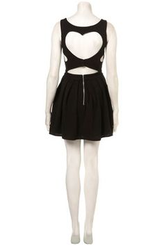 Ribbed Heart Back Prom Dress By Dress Up Topshop**. - Dresses - Clothing - Topshop USA - StyleSays