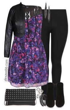 Plus Size Going Out Outfit - Plus Size Outfit Idea - alexawebb.com #alexawebb