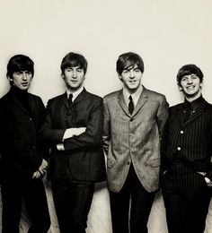 George Harrison, John Lennon, Paul McCartney, and Richard Starkey