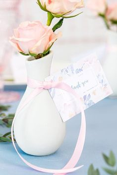 Looking for bridal shower favor ideas? Check out these top picks, like pretty lavender soap, from The Knot editors and find everything from inexpensive bridal shower favors to DIY bridal shower favors made to match your shower theme. Personalize your wedding and put a spin on tradition with The Knot's customizable wedding websites, wedding invitations, registry (and more!). Wedding Vases, Diy Wedding, Wedding Favors, Wedding Decorations, Wedding Invitations, Wedding Agenda, Bridal Shower Favors Diy, Wedding Timeline, Wedding Website