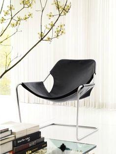 Paulistano Armchair (1957). Designed by Paulo Mendes da Rocha. #PaulistanoArmchar #PaoloMendesdaRocha #livingroom #dwrlivingroomsale #dwr