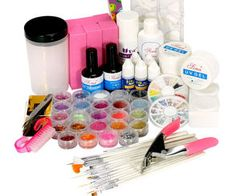 Pro UV Pink Lamp & 24 color glitter Natural Color Tips Practice Fingers Cutter Nail Art DIY Tool Kits Sets Gel Nail Kit, Uv Gel, Gel Nails, Nail Kits, Pink Lamp, Lamp Sets, Nail Art Diy, Diy Tools, Nail Tech