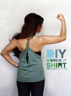 {DIY} Un t-shirt devient débardeur sexy!
