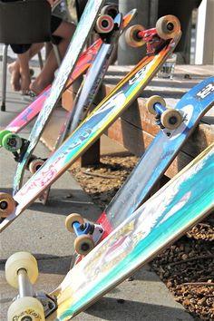 skateboards, longboards, pennyboards... ALL TYPES OF BOARDS!