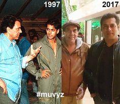 "2 Likes, 1 Comments - muvyz.com (@muvyz) on Instagram: ""#Dharmendra #SalmanKhan #BollywoodFlashback #90s #nowandthen #muvyz123017 @aapkadharam…"""