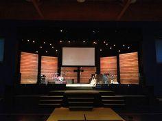 stage design church wood - Buscar con Google